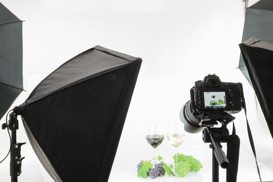 Professional Camera and Lighting Equipment