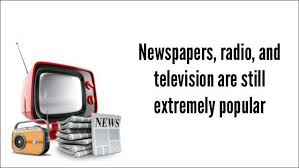 Newspapers, TV & Radio